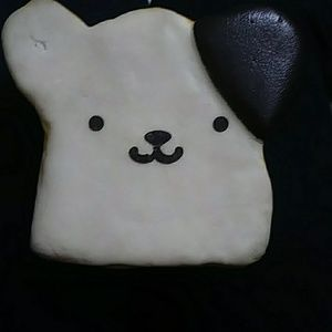 A choclate dipped bear bread squishy